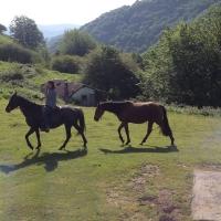 Yann et Querida avec Chotil