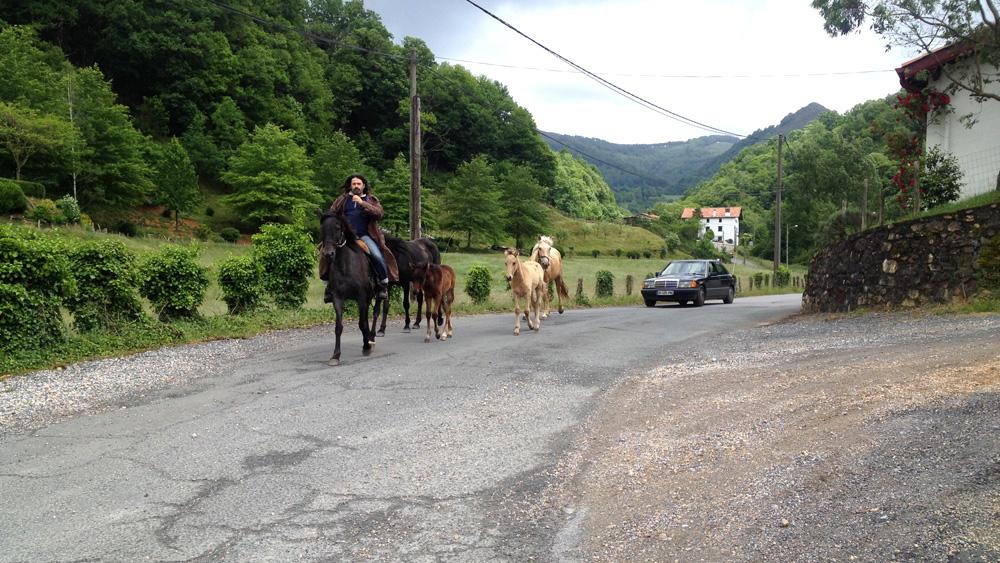 traversée du village